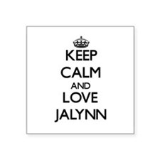 Keep Calm and Love Jalynn Sticker