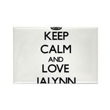 Keep Calm and Love Jalynn Magnets