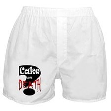 cake or death 2 Boxer Shorts