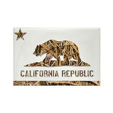 Weeds Camo California Bear 2 Magnets