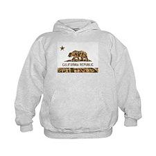 Weeds Camo California Bear 2 Hoodie
