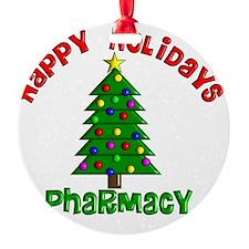 Happy holidays Pharmacy Ornament