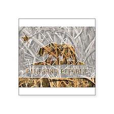 Weeds Camo California Bear 1 Sticker