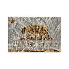 Weeds Camo California Bear 1 Magnets