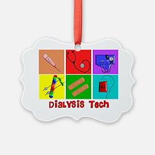 Dialysis Tech Popart Ornament