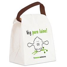 veg-pure-laine-2 Canvas Lunch Bag