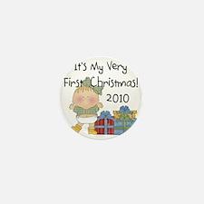 20109GIRLFIRSTXMAS Mini Button