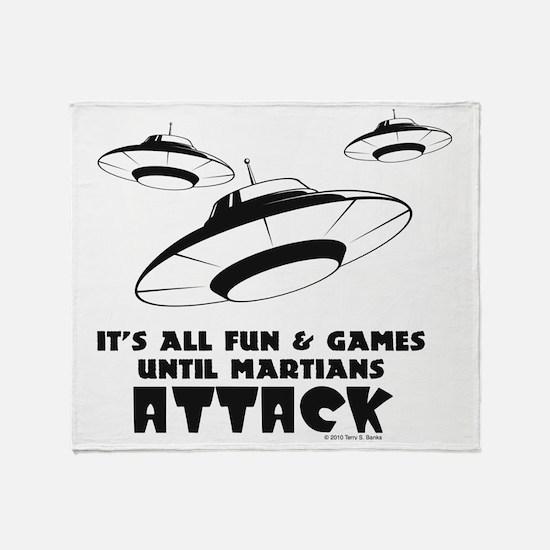 flying-saucer1 Throw Blanket