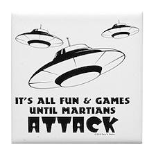 flying-saucer1 Tile Coaster