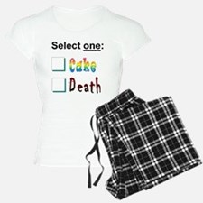cake or death 3 Pajamas