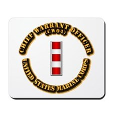 USMC - CW4 Mousepad