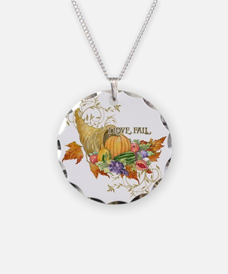 Harvest Thanksgiving Fall Co Necklace
