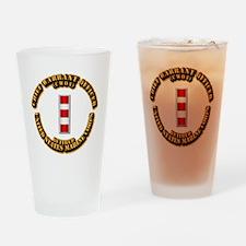 USMC - CW4 - Retired Drinking Glass