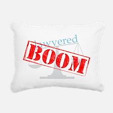 2-boom-dark-big Rectangular Canvas Pillow