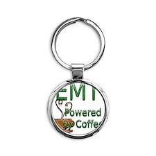 coffee emt copy Round Keychain