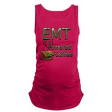 coffee emt copy Maternity Tank Top