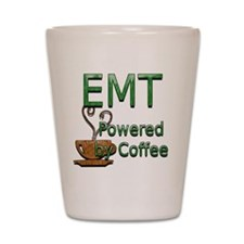 coffee emt copy Shot Glass