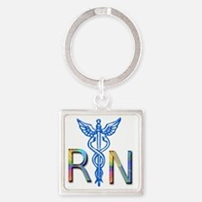 RN COLORS 2 Square Keychain