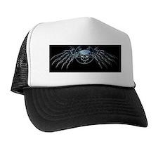 Skull Pentagram black Trucker Hat