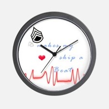 SSG Heart Skip A Beat Wall Clock