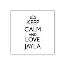 Keep Calm and Love Jayla Sticker