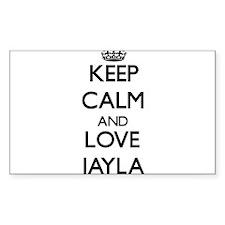Keep Calm and Love Jayla Decal