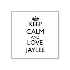Keep Calm and Love Jaylee Sticker