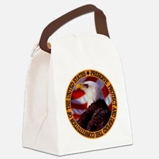 Protect And Defend Canvas Lunch Bag