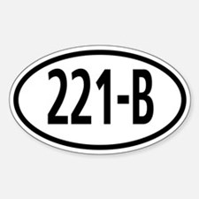 221B Travel Decal