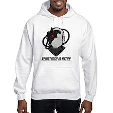 borg Hoodie Sweatshirt