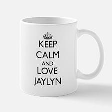 Keep Calm and Love Jaylyn Mugs