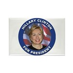 Hillary Clinton for President Rectangle Magnet (10