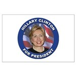 Hillary Clinton for President Large Poster