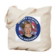 Hillary Clinton for President Tote Bag