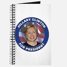 Hillary Clinton for President Journal