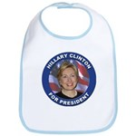 Hillary Clinton for President Bib