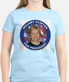 Hillary Clinton for President (Front) Women's Pink