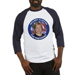 Hillary Clinton for President (Front) Baseball Jer