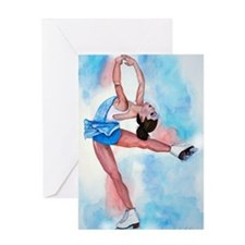 layback spin3 Greeting Card