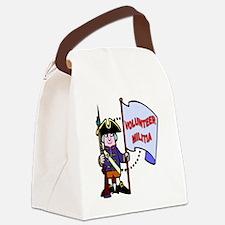 volunteer-militia Canvas Lunch Bag
