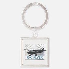 RC Flyer Hign Wing Airplane Keychains