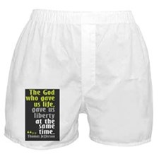 TJ Quote Liberty Boxer Shorts