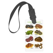 Snakes Luggage Tag