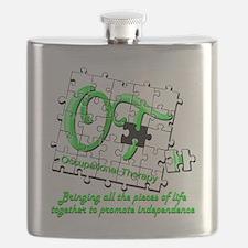ot puzzlegreen Flask