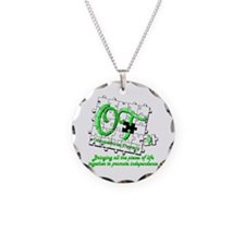 ot puzzlegreen Necklace