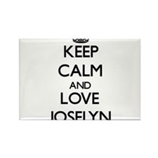 Keep Calm and Love Joselyn Magnets