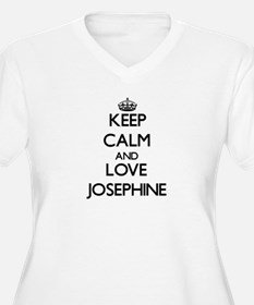 Keep Calm and Love Josephine Plus Size T-Shirt
