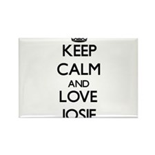 Keep Calm and Love Josie Magnets