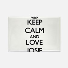 Keep Calm and Love Josie Magnets