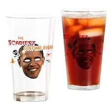 sacariest_costume_obama_dark Drinking Glass
